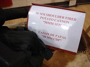 school auction items potato cannon manual
