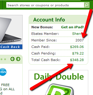 silent auction displays cheaper at Ebates