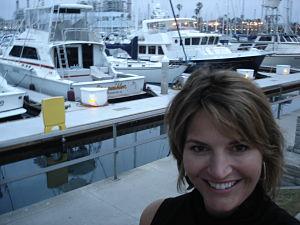 benefit auctioneer Virginia Sherry Truhlar, Redondo Beach 2009