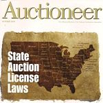 Auctioneer Cover October 2009 150