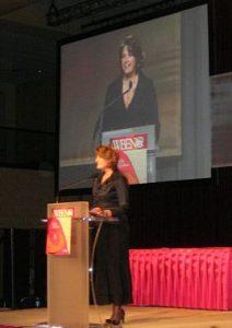 Sherry Truhlar, fundraising auctioneer