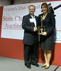 benefit auctioneer Virginia with Mark Rogers