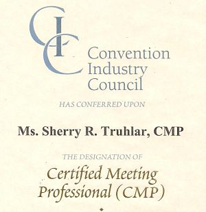 Virginia benefit auctioneer CMP Certificate
