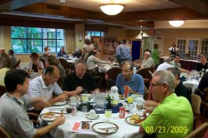 Rotary Columbia Patuxent - breakfast