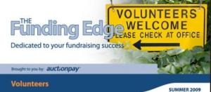 Funding Edge - managing volunteers