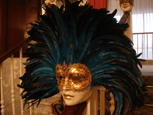 fundraising auctions - Venetian mask