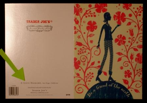 Steve Haskamp Trader Joes Card