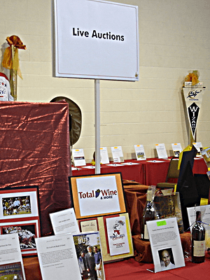 auction items in live