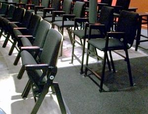washington DC auction venues theatre chairs