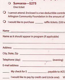 School Auctions Ideas Ticket Price