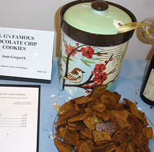 silent auction donations - cookies for taste