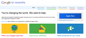 benefit auction technologies Google Tools for Nonprofits