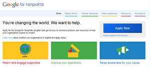 benefit auction technologies Google Tools for Nonprofits