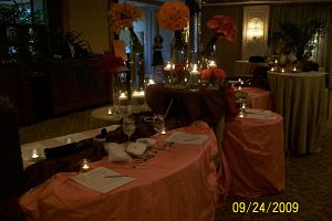 silent auction ideas - candlelight