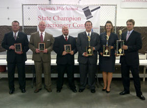 Sherry Truhlar benefit auctioneer Virginia Auctioneer Champion 2012 finalists