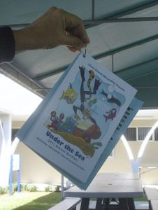 school benefit auction catalog ring binder