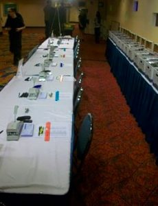 Charity Auction Registration setup