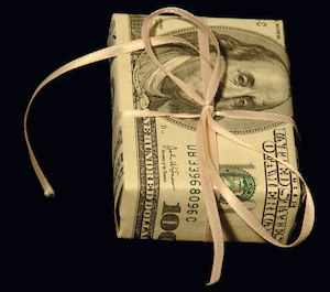 a gift of money