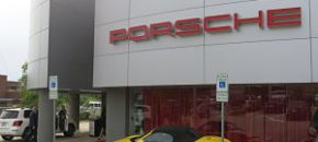 Porsche Dealership Auction Venue
