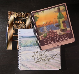 Three wine auction catalogs