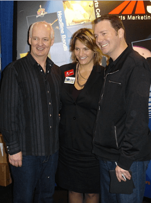 Benefit auction headline entertainment - Colin Mochrie and Brad Sherwood