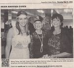 Amarillo Globe News May 2015 Texas fundraising auctioneer