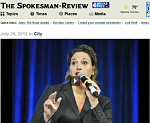 Spokesman-Review-female-auctioneer-Sherry-Truhlar-2012-IAC Championship