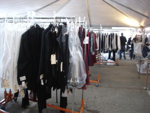 National Treasure II costume tent