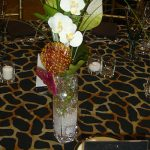 Auction centerpieces: Should you sell them or give them away?