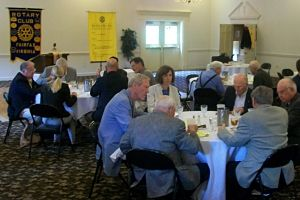 Rotary Club of Fairfax - Spoke at luncheon about Auction Fundraiser