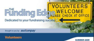 Funding Edge - managing volunteers
