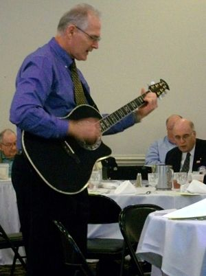 Rotary Club of Fairfax - Guitar John