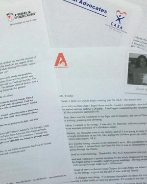 Benefit auction donation request letter