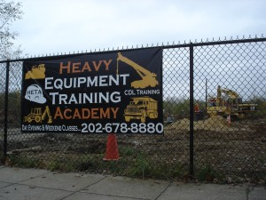 Heavey Equipment Training Auction Idea