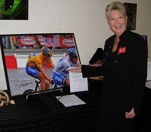 auction team Julie school auction