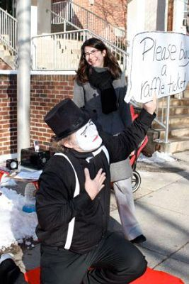 school auction ideas - Mime offers raffle