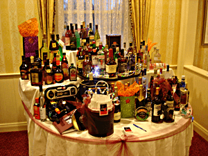 benefit auction item ideas - stock the bar