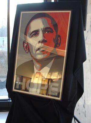 fundraising auction ideas political art