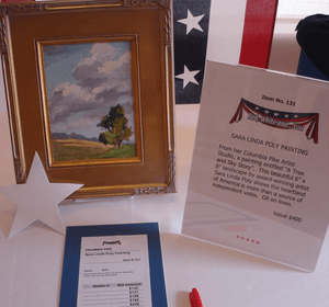 fundraising auction tips art local artist