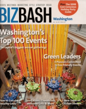 benefit auction ideas BizBash Washington cover