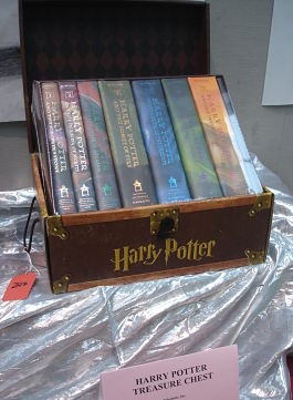 silent auction item ideas Harry Potter