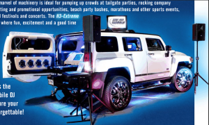 silent auction entertainment ideas Silent Party Hummer