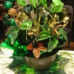 Gala centerpieces don't have to be flowers