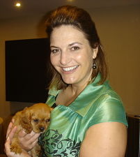 benefit auction puppy with benefit auctioneer Florida Sherry Truhlar