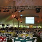 Headed outside? Tips for tents as charity auction venues