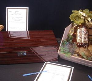 nonprofit silent auction item cigar humidor