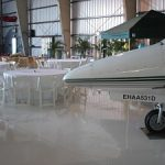 VIDEO: Unusual charity auction venues – airplane hangars