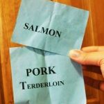 Salmon or pork turd: Which would you eat?