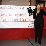 Sherry takes 1st runner up in Virginia State Champion Auctioneer contest