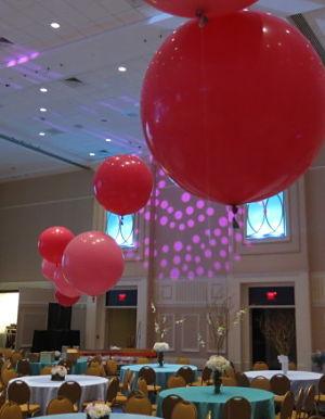Auction decoration ideas elegant yes elegant balloons for Yes decoration